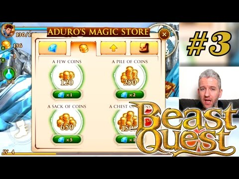 Let's Play Beast Quest – Part 3: Dad Discovers Mystery Door - YouTube thumbnail