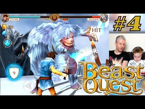 Let's Play Beast Quest – Part 4 – Nanook's Battle - YouTube thumbnail