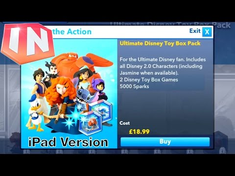Let's Play Disney Infinity iOS – In App Purchases - YouTube thumbnail