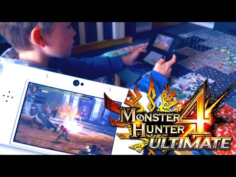 Monster Hunter 4 Ultimate – How To Set-Up Multi-Player with Father and Son - YouTube thumbnail