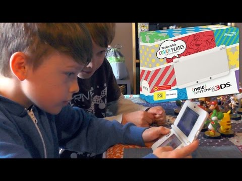 New Nintendo 3DS and amiibo NFC features - YouTube thumbnail