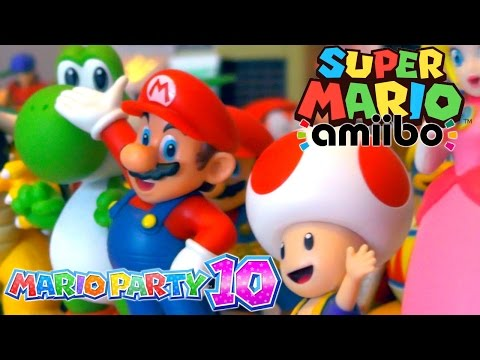 Super Mario amiibo collection with Ellen (11) – Mario, Toad, Peach, Bowser, Luigi & Yoshi - YouTube thumbnail