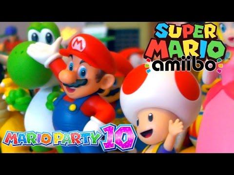 Super Mario amiibo collection with Ellen (11) – Mario, Toad, Peach, Bowser, Luigi & Yoshi - YouTube thumbnail