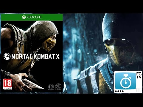 2 Minute Guide: Mortal Kombat X (PEGI 18+) - YouTube thumbnail