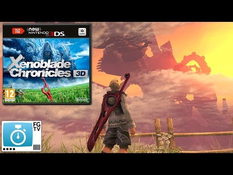 2 Minute Guide: Xenoblade Chronicles 3D (PEGI 12+) - YouTube thumbnail