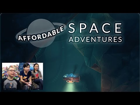 Dad & Daughters Play Affordable Space Adventures Wii U - YouTube thumbnail