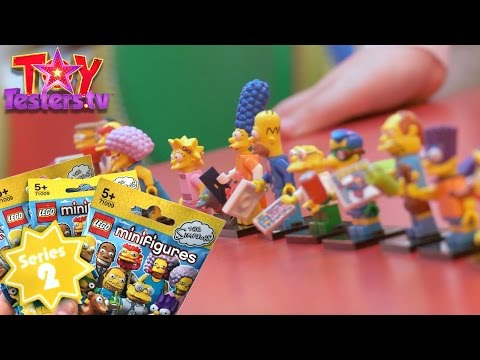 LEGO Minifigures The Simpsons Series 2 – 32 Pack Opening at Hamleys Toy Store - YouTube thumbnail
