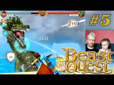 Let's Play Beast Quest – Part 5 – Sepron Hunting - YouTube thumbnail