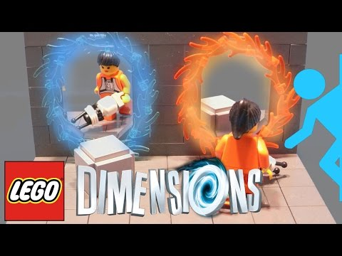 Portal spotted in Lego Dimensions (also Scooby, Chima & Ghostbusters) – Full Details Wave 1, 2, 3, 4 - YouTube thumbnail