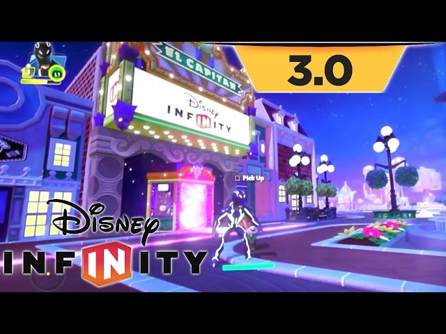 Disney Infinity 3.0 Game-Play – Toy Box Hub, Star Wars Items & Ewok Village