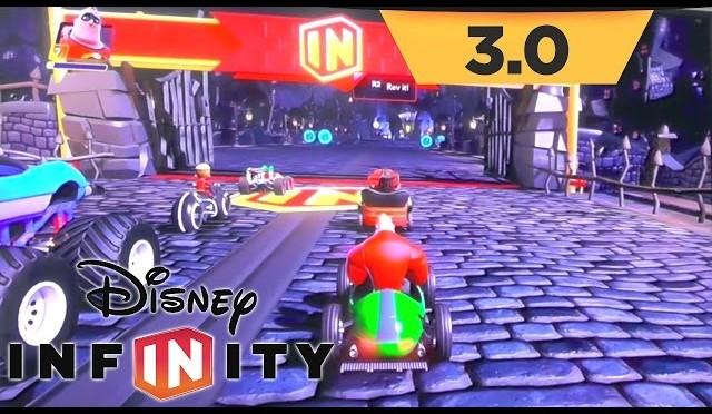 Disney Infinity 3.0 Game-Play – Toy Box Speedway