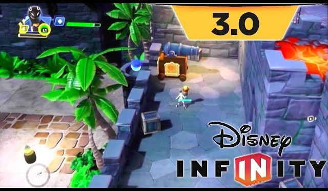 Disney Infinity 3.0 Game-Play – Toy Box Takeover as Sam Flynn