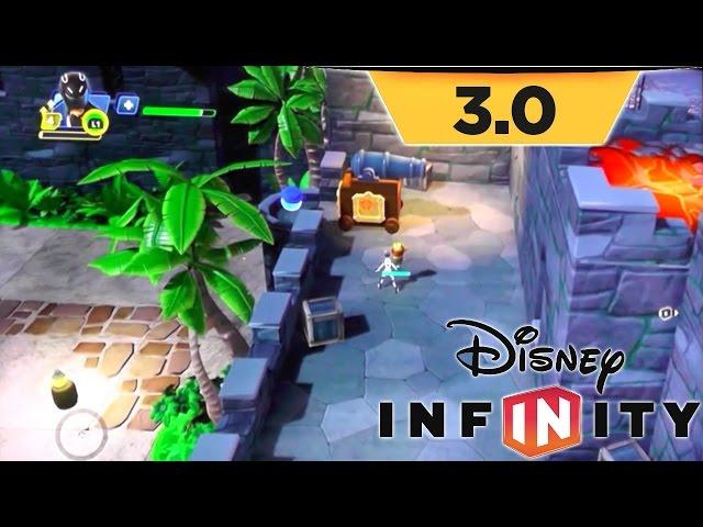 Disney Infinity 3.0 Game-Play – Toy Box Takeover as Sam Flynn