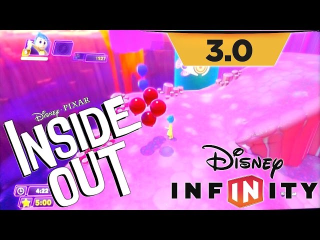Disney Infinity 3.0 Inside Out Playset Game-Play – Fear, Anger, Joy, Sadness, Disgust