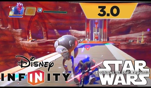 "Disney Infinity 3.0 Star Wars ""Twilight of the Republic"" Game-Play Playset"