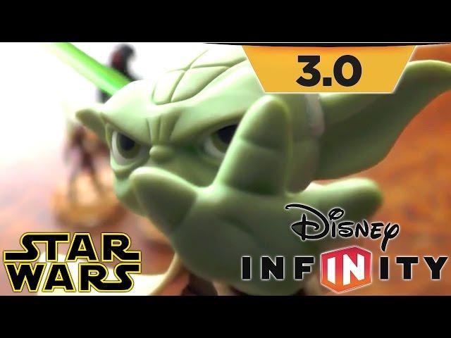 "Disney Infinity 3.0 Star Wars ""Twilight"" Toy Tour – Ahsoka, Anakin, Yoda, Obi Wan, Darth Maul"