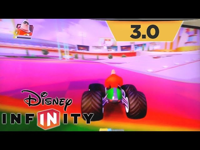 "Disney Infinity 3.0 Toy Box Speedway ""Sugar Rush"" Track & Hub World Upgrades"