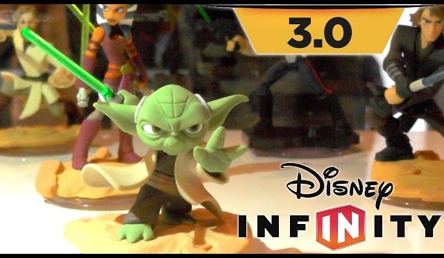 Disney Infinity 3.0 Toy Figure Tour – Star Wars, Inside Out Figs Ready for Playsets