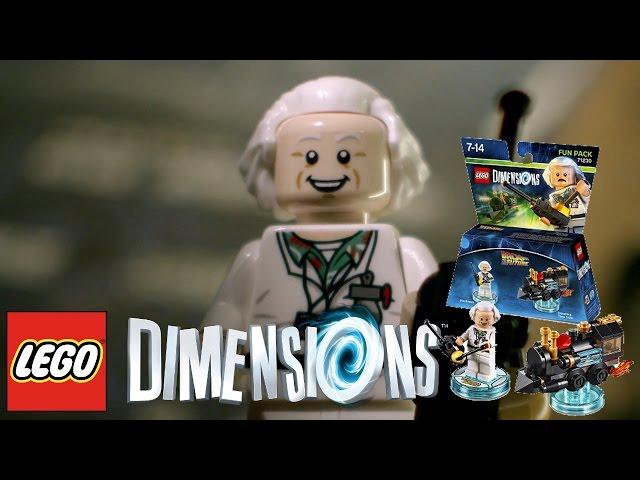 LEGO Dimensions Game-Play Trailer – Doc Brown, Aquaman, Bane, Superman