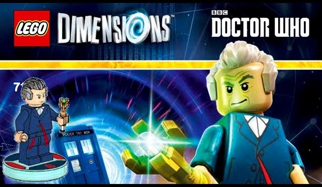 LEGO Dimensions Official Doctor Who, Portal 2, The Simpsons Minifigures and Packs