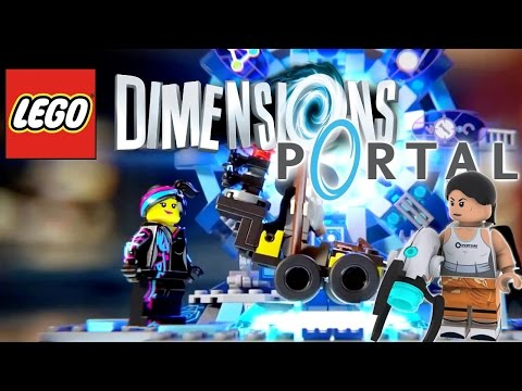 LEGO Dimensions – Portal Gun Confirmed (Also The Simpsons, Jurassic World & Scooby Doo) - YouTube thumbnail