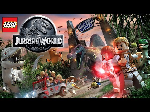 LEGO Jurassic World Dinosaur Game-Play Trailer (Xbox, Playstation, Wii U)