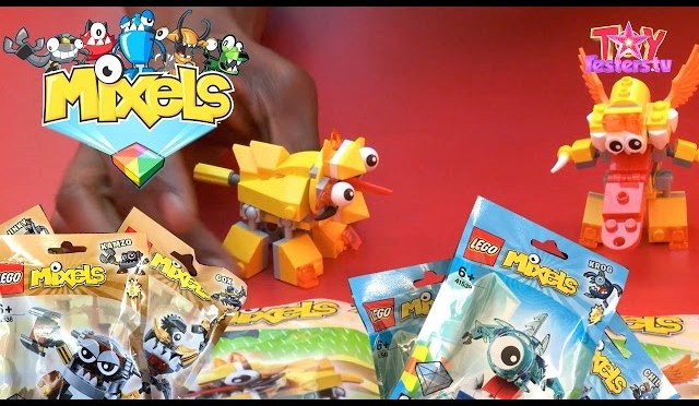 LEGO Mixels Series 5 Opened: Klinkers, Frosticons & Lixers