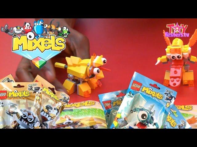 LEGO Mixels Series 5 Opened: Klinkers, Frosticons & Lixers