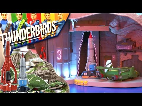 New Tracy Island (2015) – Thunderbirds Are Go Toys - YouTube thumbnail