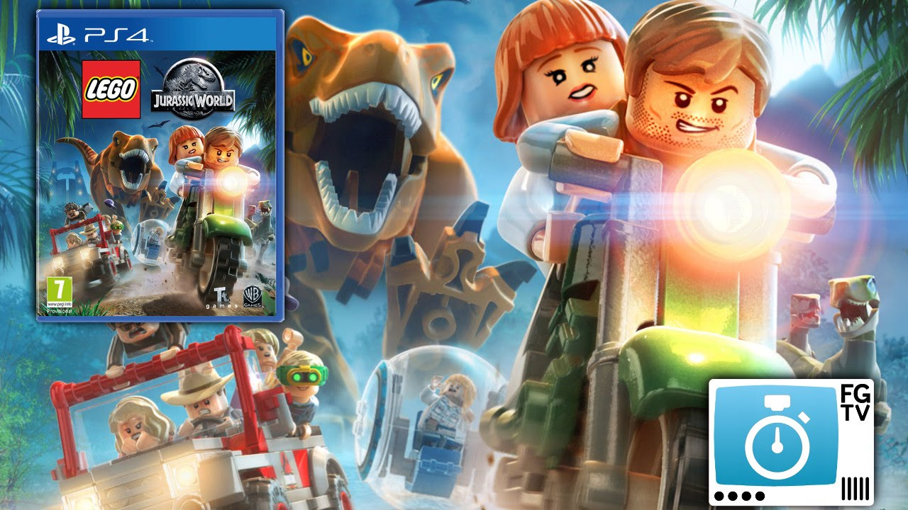 2 Minute Guide: Lego Jurassic World (PEGI 7+)