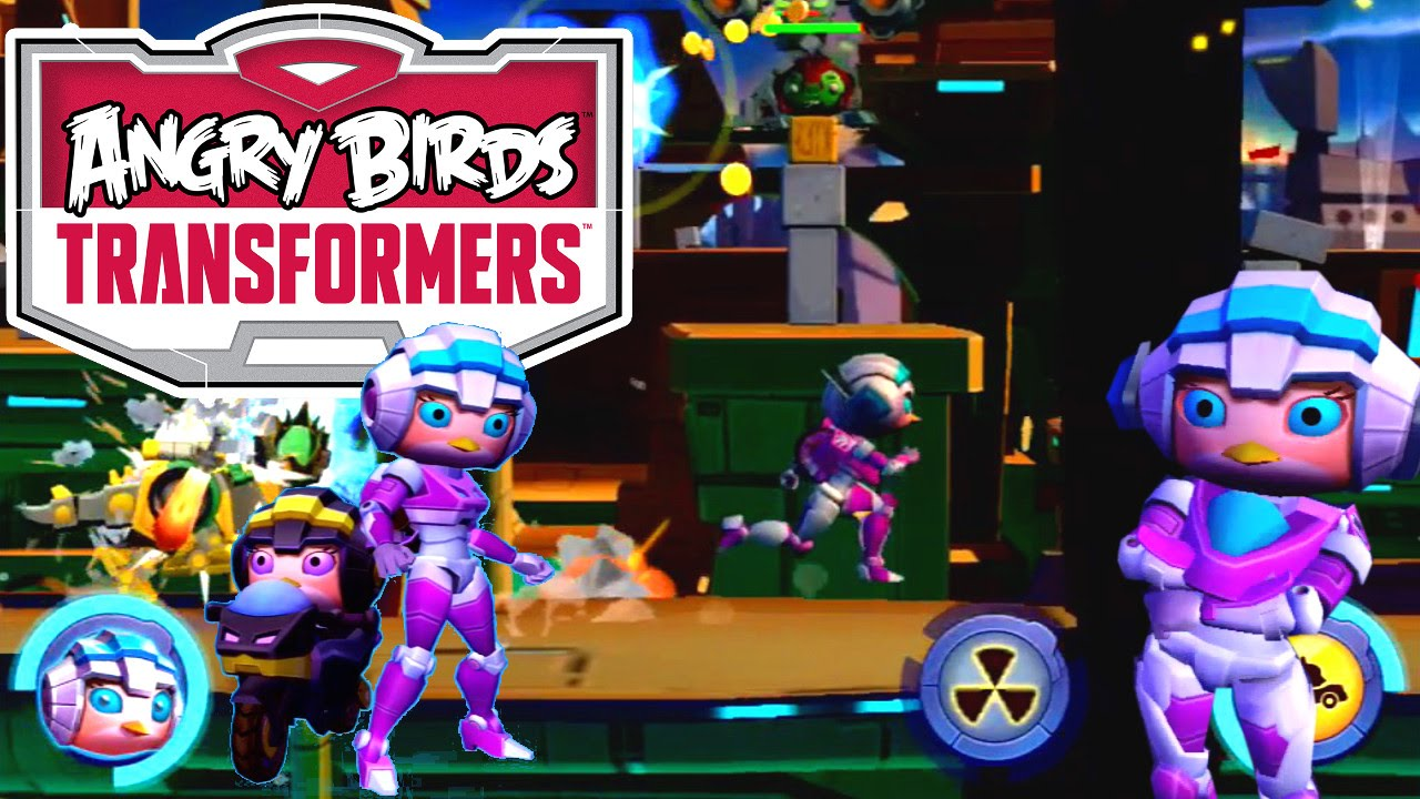 Angry Birds Transformers UPDATE – Arcee / Stella, Silos, Upgrades