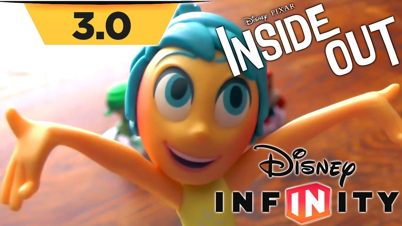 Disney Infinity 3.0 Inside Out – Toy Tour