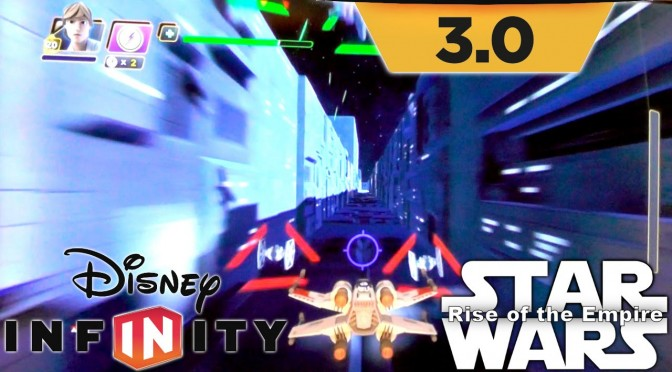 Disney Infinity 3.0 Rise of the Empire – 12 Mins Star Wars Game-Play