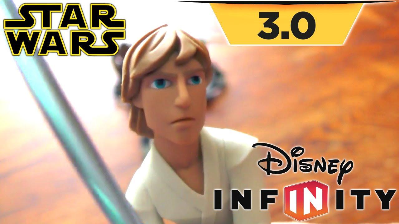 "Disney Infinity 3.0 – ""Rise"" Toy Tour – Luke, Leia, Han, Chewbacca"