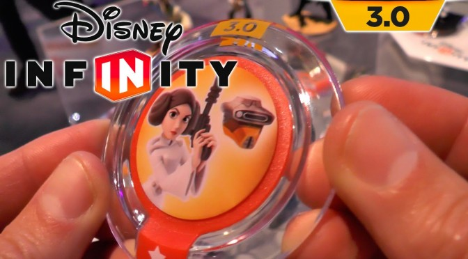 Disney Infinity Star Wars Power Discs – Luke & Leia Costume Swaps