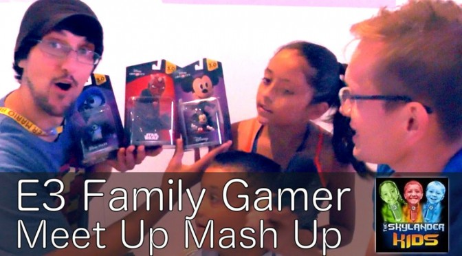 E3 Meet Up – Sky Dad, Lex & Mike –  FGTeeeV & FamilyGamerTV United