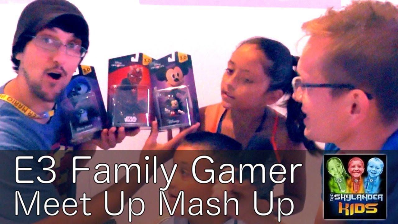 E3 Meet Up – Sky Dad, Lex & Mike –  FGTeeeV & FamilyGamerTV United