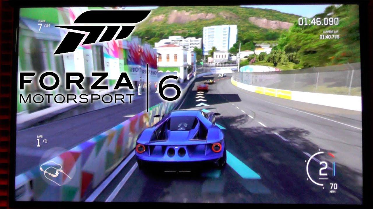 Forza Motorsport 6 – New Rio Track