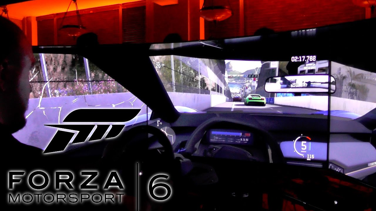 Forza Motorsport 6 – Sebring at Night and Three Screen $100,000 Set-up