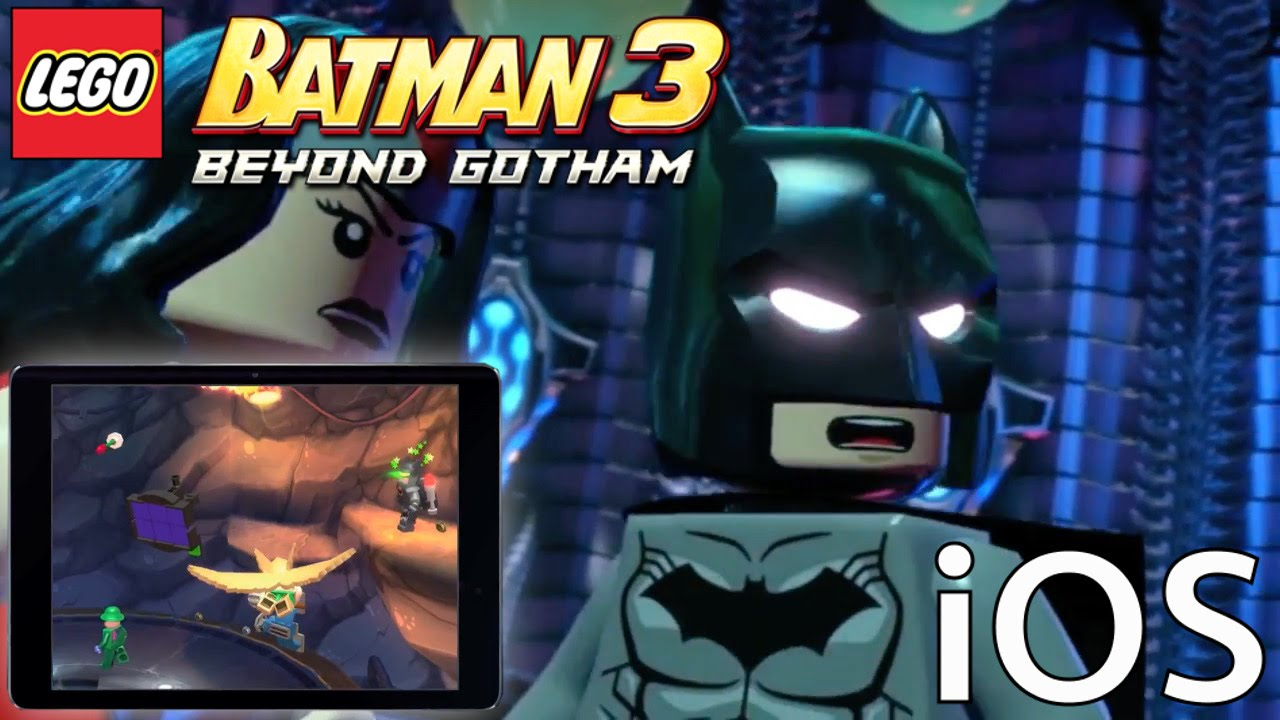 Lego Batman Beyond Gotham iOS – Game-Play Analysis
