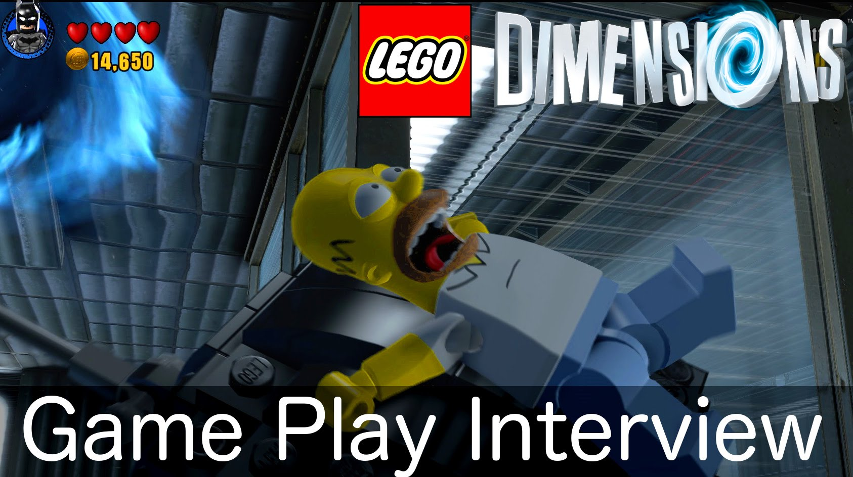 Lego Dimensions Game-Play Interview