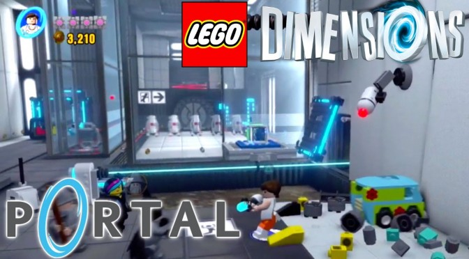 Lego Dimensions Portal Game-Play Analysis