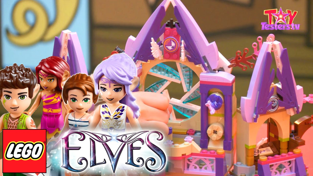 LEGO Elves Review  – 41077 Aira's Pegasus Sleigh & 41078 Skyra's Mystery Castle