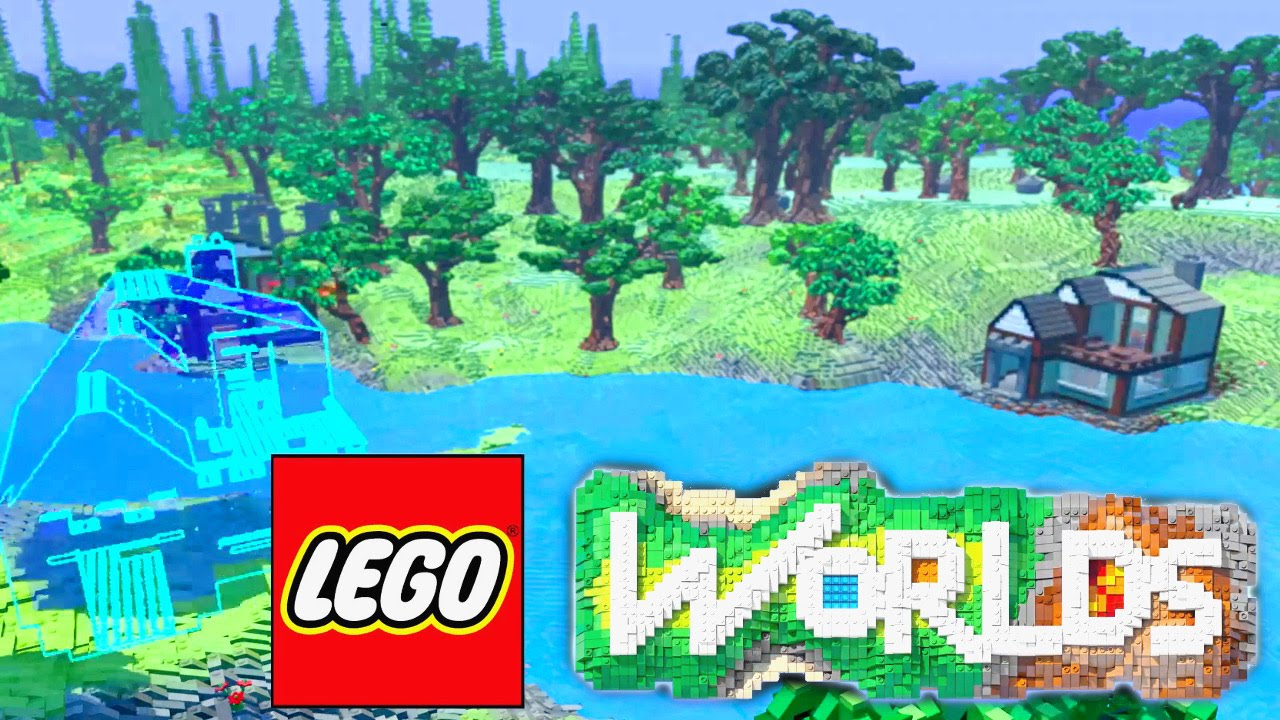 LEGO Worlds – Plastic Minecraft Out Now on Steam