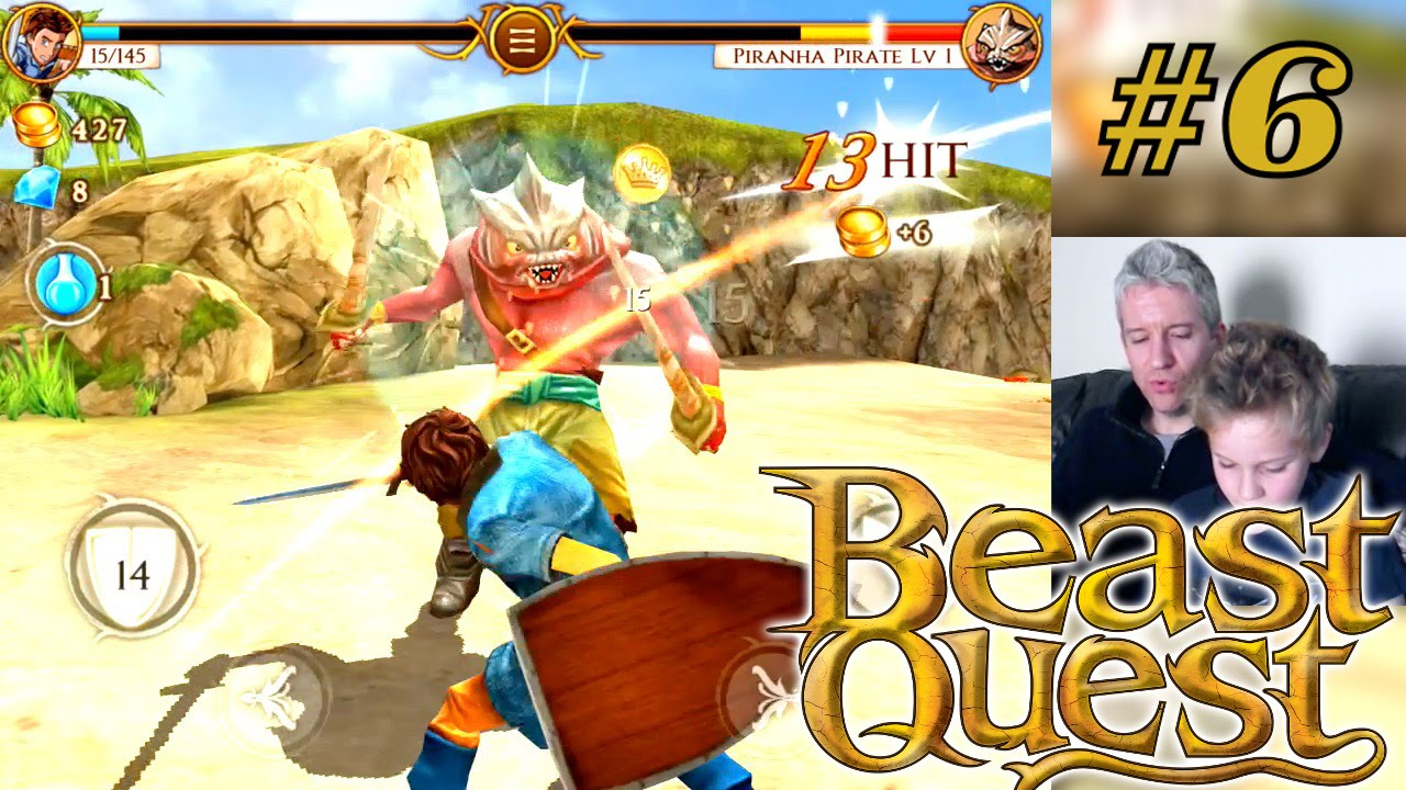 Let's Play Beast Quest – Part 6 – Sepron Defeated