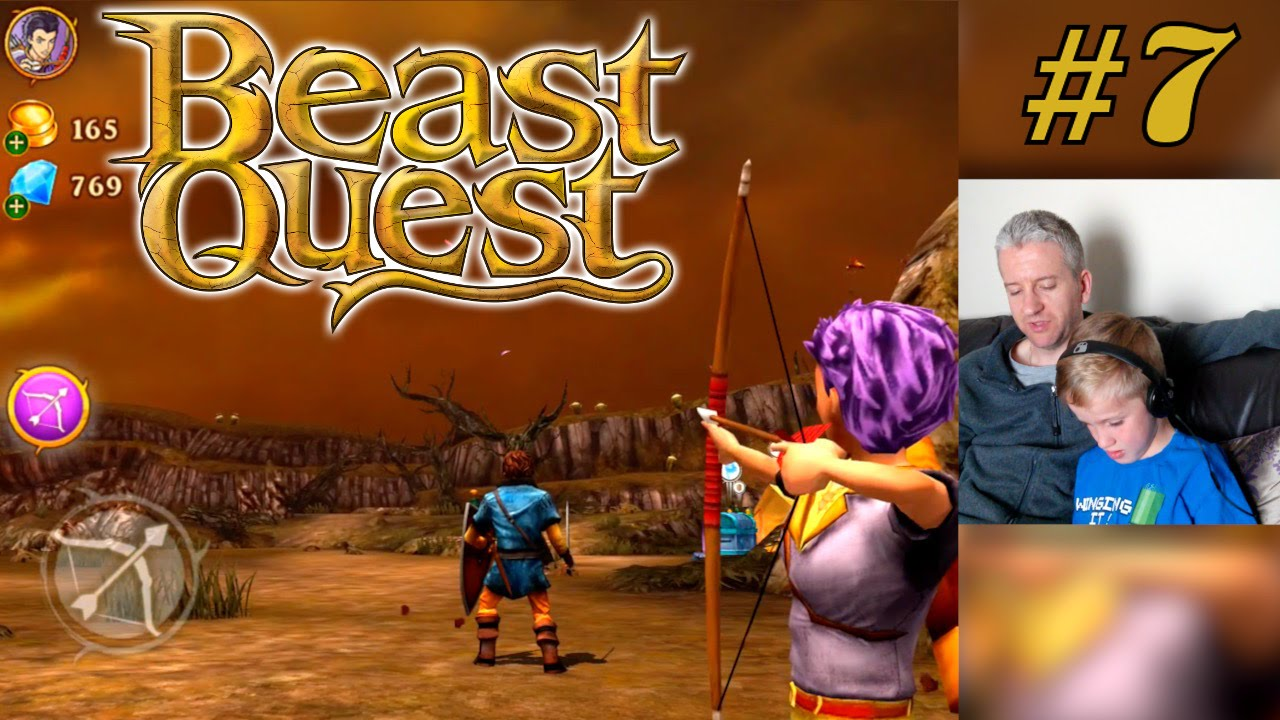 Let's Play Beast Quest Part 7 – Epos and Elena Playable