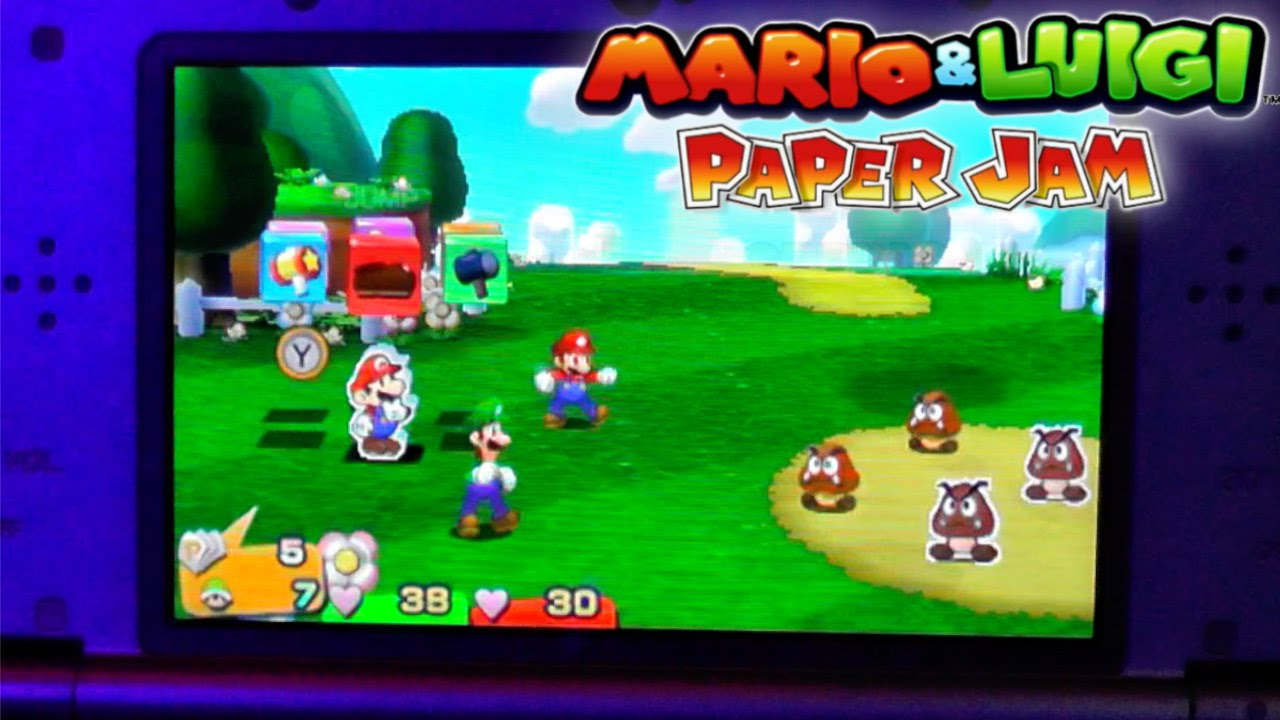 Mario & Luigi Paper Jam – Hands On Game-Play
