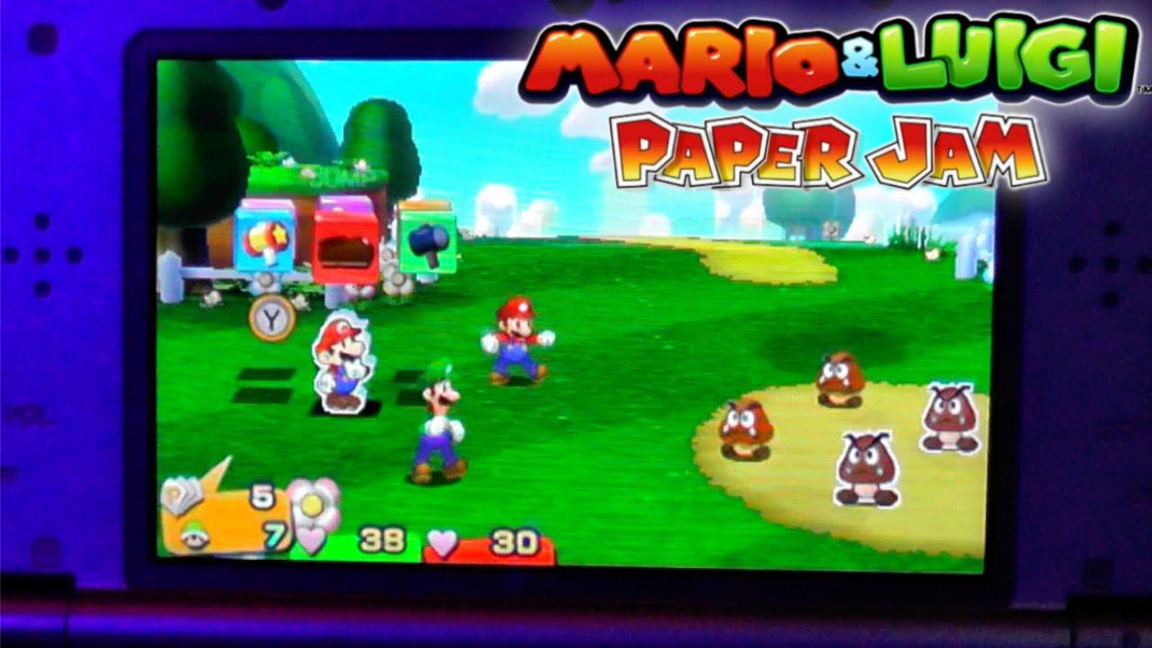Mario & Luigi Paper Jam – Hands On Game-Play