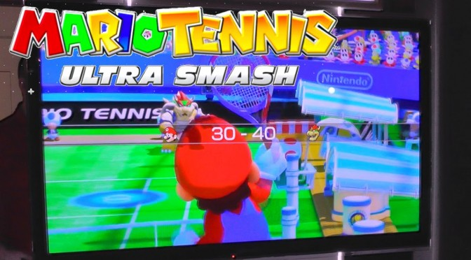 Mario Tennis Ultra Smash Wii U – Let's Play Hands On