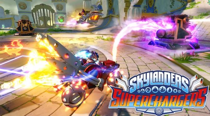 Skylanders SuperCharagers Vehicle Mods w/ Dive-Clops + Dive Bomber, Stormblade + Sky Slicer